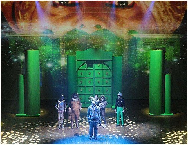 Le Magicien d&rsquo;Oz<br>Comédie musicale